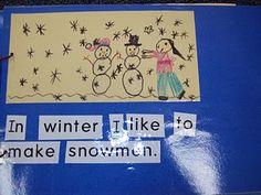 In Winter... class book