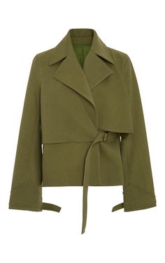 Yippee Ki Yay Layered Trench Coat by ROSIE ASSOULIN for Preorder on Moda Operandi