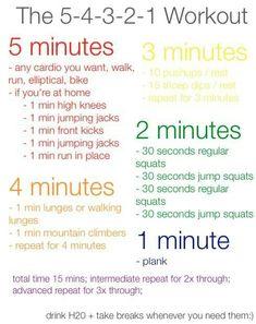 54321 workout
