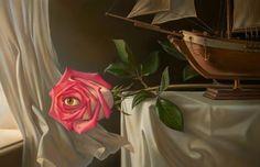 """Rose"", de Vladimir Kush"