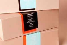 Strata Bakery packaging - it's just too beautiful