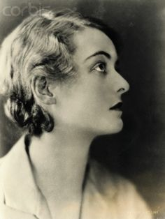 Profile of a Very Young and Aspiring Actress Bette Davis