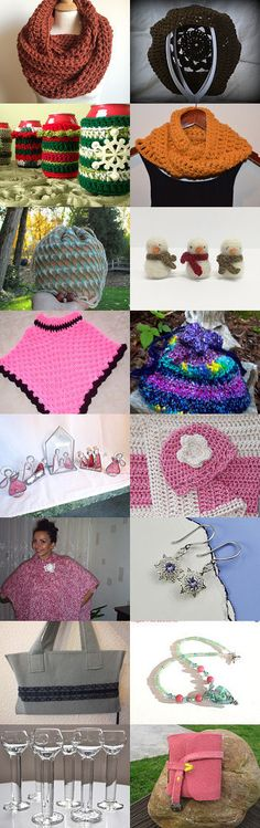 When the weather outside is frightful...shop at these shops! by Jennifer Lacek on Etsy--Pinned with TreasuryPin.com