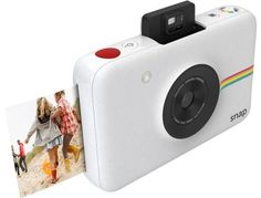 Polaroid - Snap 10.0-Megapixel Digital Camera - White - AlternateView14 Zoom