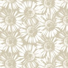 Calico Daisy fabric by kristopherk on Spoonflower - custom fabric