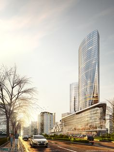 Office Building on Behance