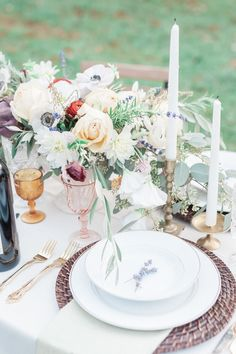 Wedding Reception Tablescapes That Are Giving Us MAJOR Spring Fever | Brides
