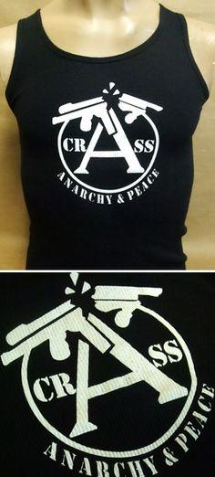 Camiseta tirantes chica - CRASS 7,90 euros Pedidos contra reembolso: www.barrio-obrero.com Muy pocas unidades disponibles.