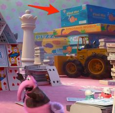 """Did you catch that Finding Nemo reference in Imagination Land? 