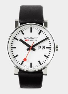 Big Case Swiss Railway Watch
