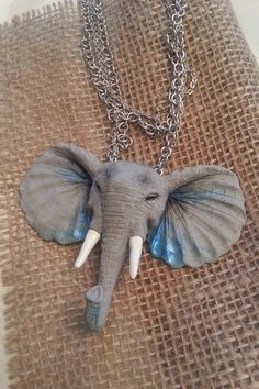 Pendant Elephant  The Original Pendant For by Jewelrylimanska