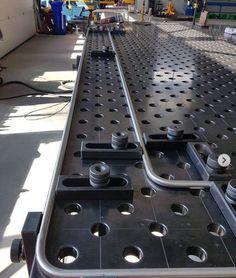 Welding Table Diy, Welding Tools, Welding Projects, Metal Workshop, Workshop Design, Metal Furniture, Table Furniture, Downdraft Table, Fixture Table