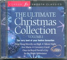 ULTIMATE CHRISTMAS COLLECTION VOL 1: CLASSIC FM CD (2006) CAROLS + CLASSICAL #ClassicalChristmas Christmas Cds, Night High, Learning, Classic, Ebay, Collection, Concerto Grosso, Derby