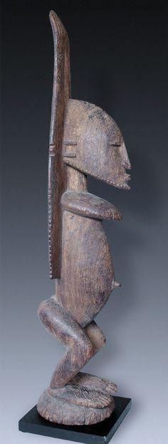 A Great male Ancestor-figure nommo, Dogon-People, Mali