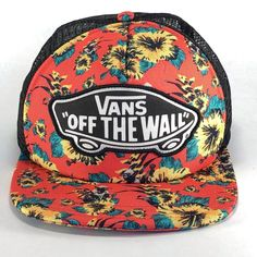 34d9833f2b297e VANS STAR WARS YODA Hat Snapback Cap Off The Wall Aloha Flat Brim