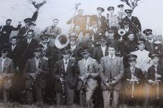 I componenti della banda musicale - 1939.