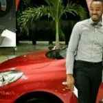Nollywood Actor OC Ukeje Gets Brand New Nissan Car For Winning Best Actor at NMA