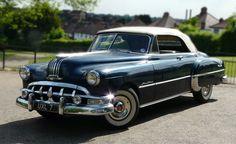 Keith Richards' Ride | 1950 Pontiac Chieftain Silver Streak Convertible