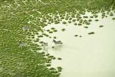 Breathtaking Aerial Photographs of Colorful African Landscapes