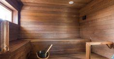 Edellinen kirjoitus esitteli saunasiipeämme, mutta se tärkein, eli sauna, jäi esittelemättä. Päätin, että tämä kirjoitus olkoon puhtaasti e... Saunas, Own Home, Bathtub, Bathroom, Home Decor, Standing Bath, Bath Room, Homemade Home Decor, Bath Tub