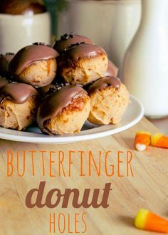 Butterfinger Donut Holes {yes, just... yes}