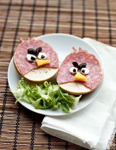 Angry Birds | Creative breakfast design 10-26