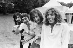 Roger Daltrey,Pete Townshend,Keith Moon and John Entwistle.