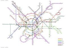 Alternative London Tube Map: Circles Within Circles