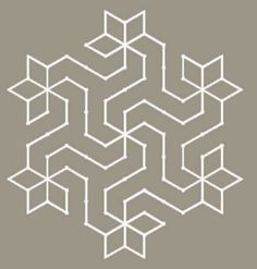 Kolam - South Indian Floor Drawings - 2