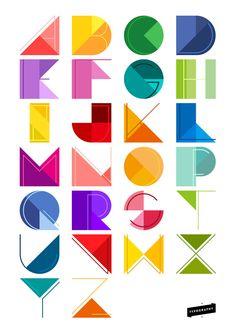 Alphabet Design by ceffany on deviantART