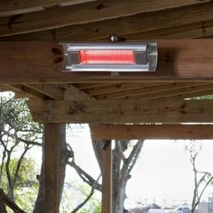 Fire Sense patented heavy duty Wall Mounted Infrared Patio Heater introduces a new revolution in outdoor heating.This unit substantially less expensive to operate than propane patio heaters.