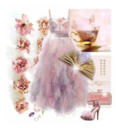 """""""Those Who Do Not Believe In Magic Will Never Find It"""" by jacque-reid ❤ liked on Polyvore featuring Marchesa, Delpozo, Rebecca de Ravenel and marchesa"""
