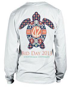 Delta Zeta Turtle T-shirt Delta Zeta Shirts, Delta Zeta Crafts, Alpha Phi Shirts, Bid Day Shirts, Sigma Kappa, Alpha Sigma Alpha, Delta Gamma, Sorority Shirts, Greek Shirts