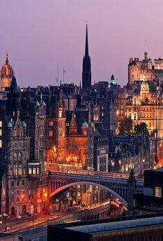 Calton Hill, Edinburgh, Scotland (by -finguin-)