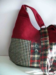 red wool bag | Flickr - Photo Sharing!