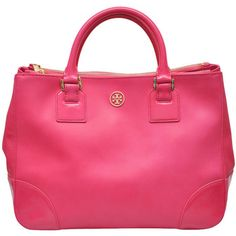 Tory Burch Robinson Tote bag ($809) ❤ liked on Polyvore
