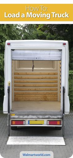 Expert shares insider tips on the best way to pack your truck for a DIY move. #tips #moving #checklist