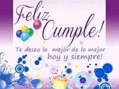 Happy Birthday Messages In Spanish 68 Super Ideas Spanish Birthday Wishes, Birthday Wishes Quotes, Happy Birthday Messages, Birthday Greetings, Birthday Cards, First Birthday Photos, Birthday Pictures, 1st Birthday Girls, Simple Birthday Message