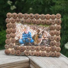 Acorn Frame - Fun Family Crafts