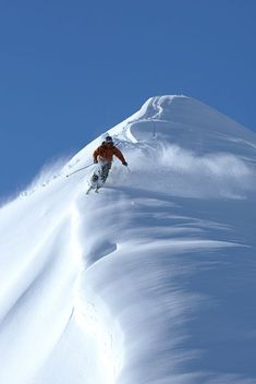 Ski America's most spectacular slopes this season – full of dry, powdery snow and vividly blue skies. Hurry, ski season will be gone before you know it! Ski Extreme, Extreme Sports, Alpine Skiing, Snow Skiing, Rafting, Location Ski, Breckenridge Ski Resort, Breckenridge Colorado, Ski Touring