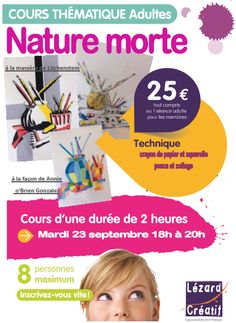 2014-09 Cours thématique Nature morte