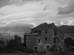 Vieille maison à Gavino. Corse
