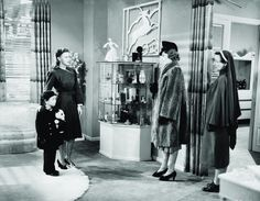 1940: Ginger Rogers, Richard Nichols and Kay Linekar in Kitty Foyle