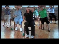 """The most important factor for improving cardiorespiratory fitness (cardio or CR) is the intensity of the workout. Changes in CR fitness are directly related to how """"hard"""" an aerobic exercise is performed. Chair Exercises, Stretching Exercises, Balance Exercises, Aerobic Exercises, Squat, Fitness Senior, Personal Trainer, Muscle Problems, Yoga For Seniors"""