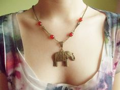 Lucky elephant victorian vintage style by 10dollarjewellery