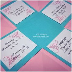Baby Shower Exploding Box Invitations I Love The Tiffany Blue With Soft Pink