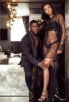 Kevin Hart and wife Eniko Hart slay in new photos