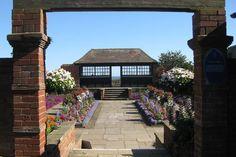 The Connaught Gardens sunken garden   Sidmouth   Devon   England