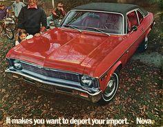 1969 Chevrolet Nova 2 Door Sedan