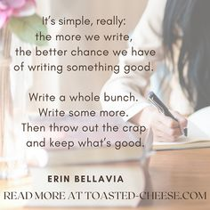 """From our article archive: """"Tis Better To Have Written"""" by Erin Bellavia   #writingtips #writing #WritingCommunity  #writinginspiration #writingmotivation Finding Forrester, Writing Motivation, I 9, Whats Good, Financial Institutions, Writing Inspiration, Writing Tips, Archive, Wellness"""